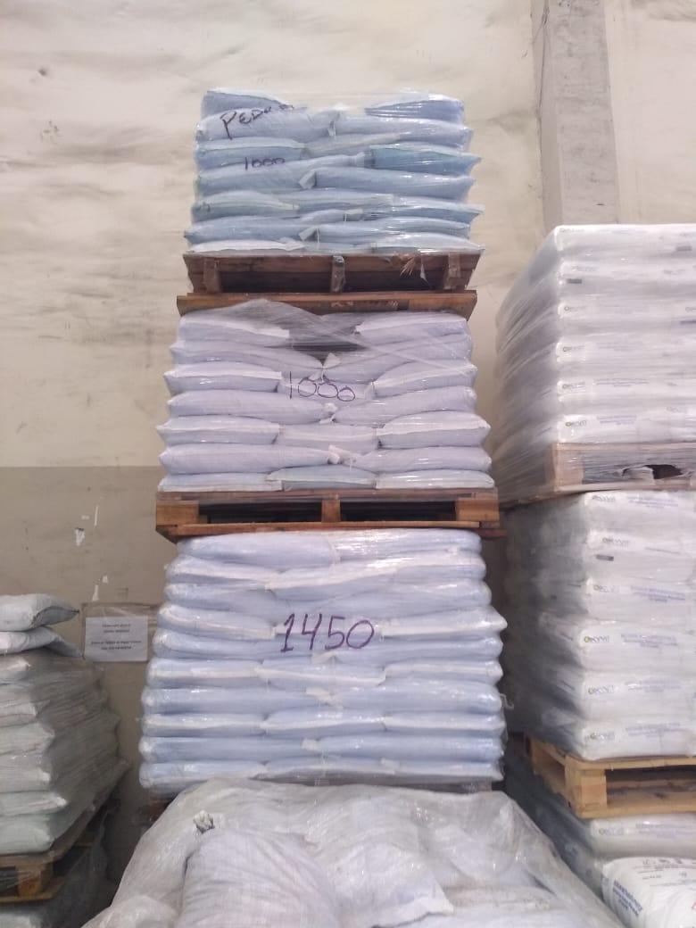 Sulfato de cobre pedras
