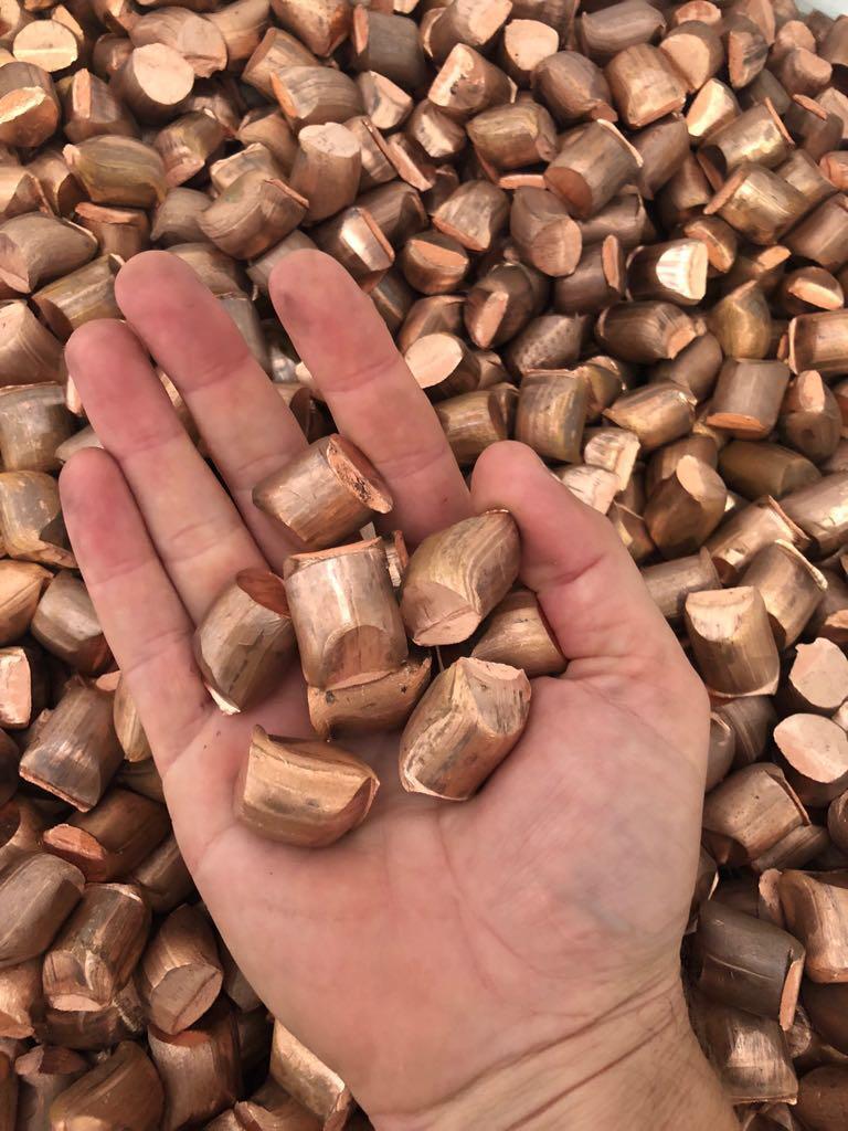 cobre-granalha
